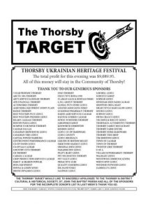 Thorsby Target - 2018 02 09