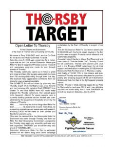 Thorsby Target - 2018.07.06