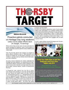 Thorsby Target - 2018.08.10