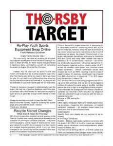 Thorsby Target - 2018.08.24