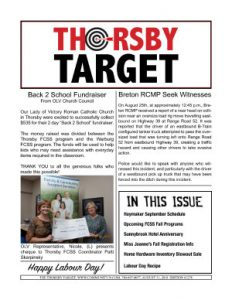 Thorsby Target - 2018.08.31