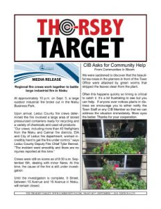 Thorsby Target - 2018.09.07