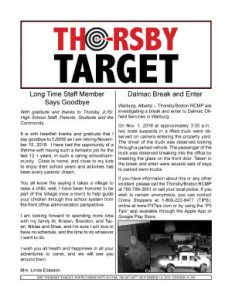 Thorsby Target - 2018.11.16