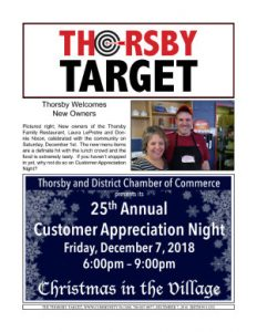 Thorsby Target - 2018.12.07