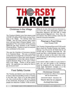 Thorsby Target - 2018.12.14