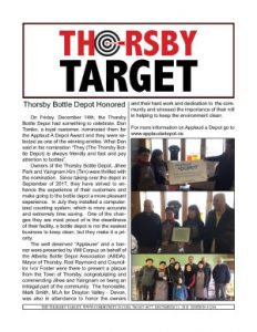 Thorsby Target - 2018.12.21