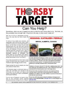 Thorsby Target - 2019.01.11