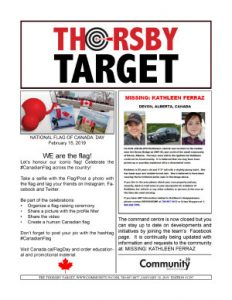 Thorsby Target - 2019.01.18