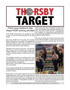 Thorsby Target - 2019.02.08