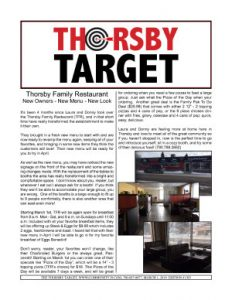 Thorsby Target - 2019.03.01