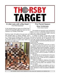 Thorsby Target - 2019.03.08