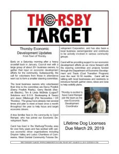 Thorsby Target - 2019.03.22