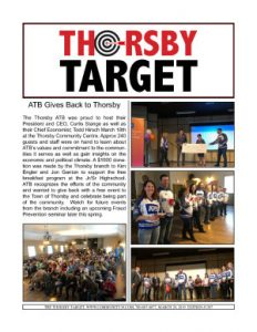 Thorsby Target - 2019.03.29