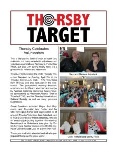 Thorsby Target - 2019.04.12