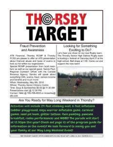 Thorsby Target - 2019.04.26