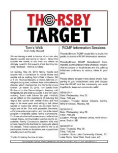 Thorsby Target - 2019.05.17