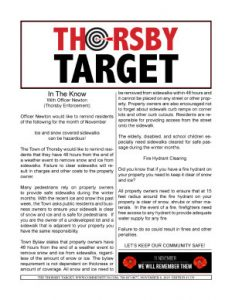 Thorsby Target - 2019.11.08