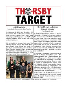 Thorsby Target - 2019.11.15