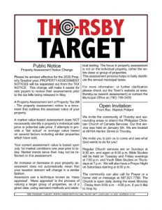 Thorsby Target - 2020.01.10