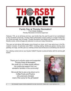 Thorsby Target - 2020.02.21