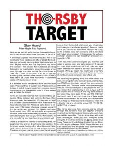 Thorsby Target - 2020.03.27