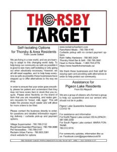 Thorsby Target - 2020.04.03