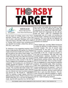 Thorsby Target - 2020.04.10