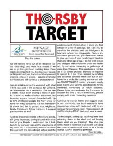 Thorsby Target - 2020.04.17