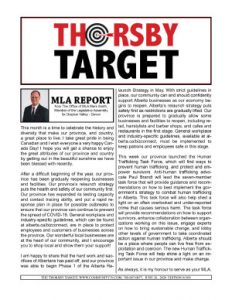 Thorsby Target - 2020.06.26
