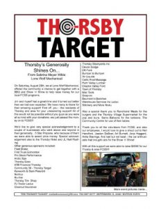 Thorsby Target - 2020.09.11