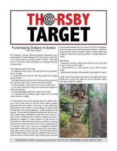 Thorsby Target - 2020.09.18
