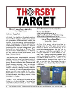 Thorsby Target - 2020.09.25