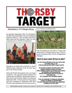 Thorsby Target - 2020.10.02