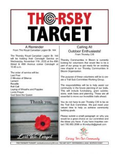 Thorsby Target - 2020.11.06