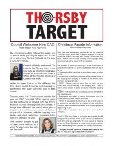 Thorsby Target - 2020.12.11
