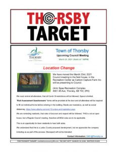 Thorsby Target - 2021.03.19