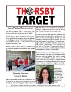 Thorsby Target - 2021.04.02