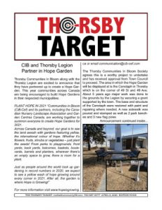 Thorsby Target - 2021.04.09
