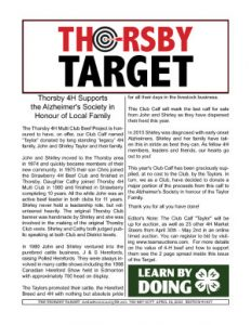 Thorsby Target - 2021.04.16