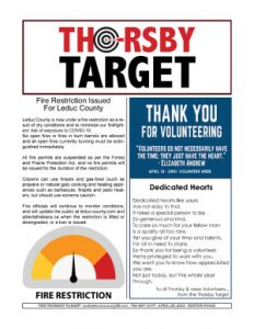 Thorsby Target - 2021.04.23