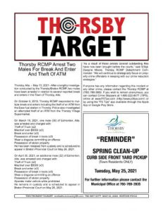 Thorsby Target - 2021.05.21