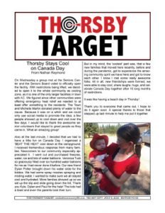 Thorsby Target - 2021.07.09