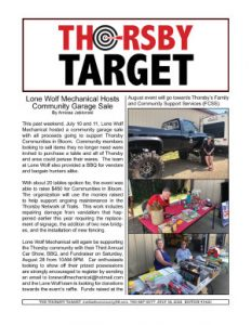 Thorsby Target - 2021.07.16