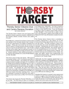 Thorsby Target - 2021.08.27